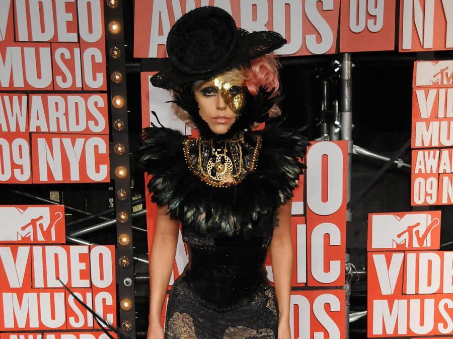 Lady Gaga na rozdaniu nagród MTV