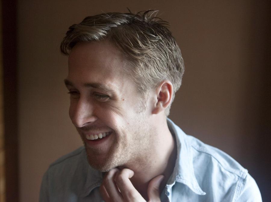 Ryan Gosling ucieka, ale nieśpiesznie