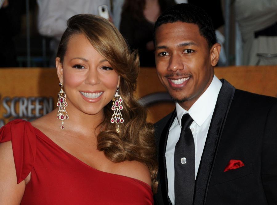 Mariah Carey z mężem Nickiem Cannonem