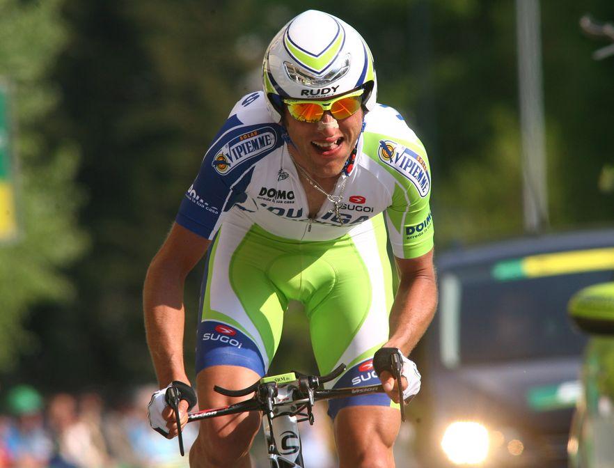 Giro d\'Italia - Contador faworytem, trzech Polaków na starcie, w tym Sylwester Szmyd (na zdjęciu)