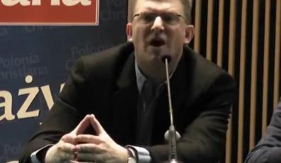 Reżyser Grzegorz Braun o biskupie: Życiński to łajdak i kłamca