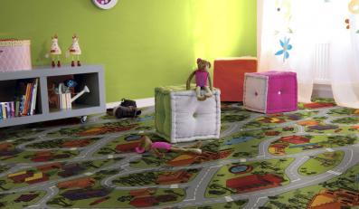 Odciągnij dziecko od komputera... dywanem