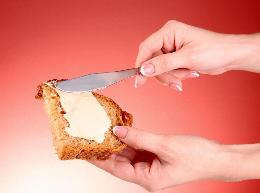 Pieczywo z masłem