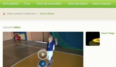 Synek Małgorzaty Dydek będzie piłkarzem