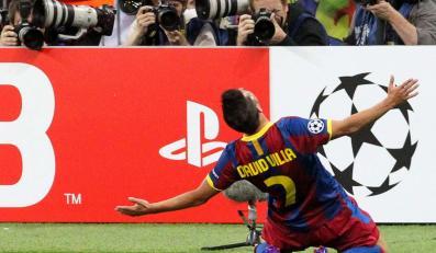 David Villa strzelił jednego z goli w finale LM