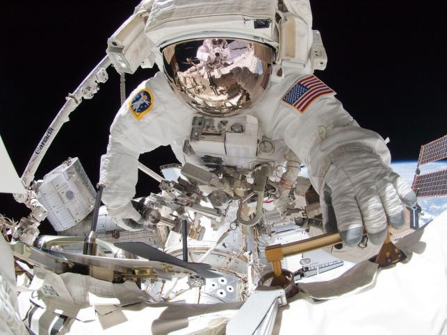 Astronauta Greg Chamitoff