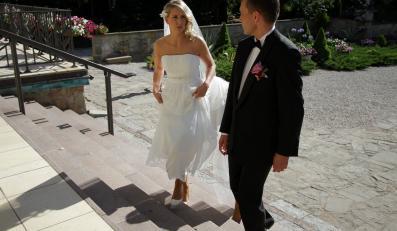 Milena Sadurek i jej mąż
