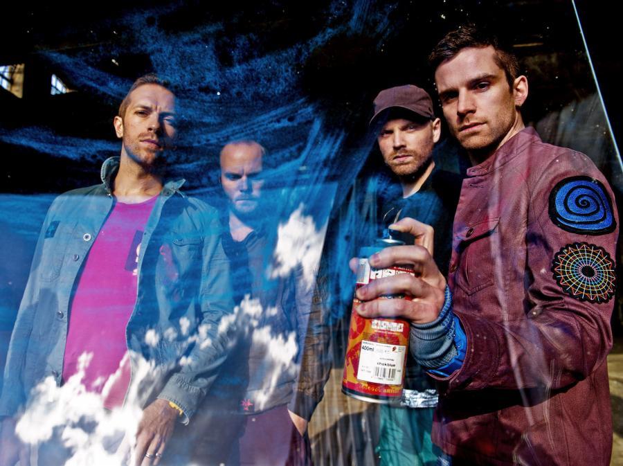 Gołe panie u Coldplay