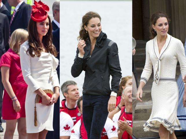Przebierania nigdy dość - kreacje księżnej Catherine w Kanadzie.