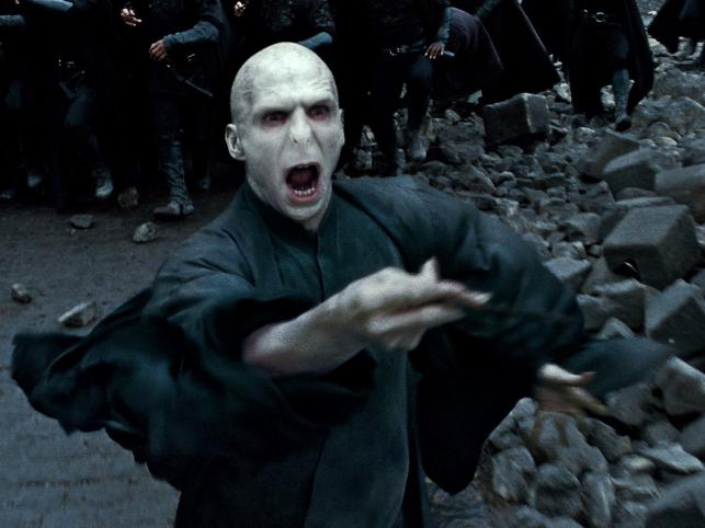 "9. Lord Voldemort (seria ""Harry Potter"")"