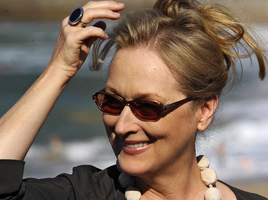 Meryl Streep zagrała żelazną damę