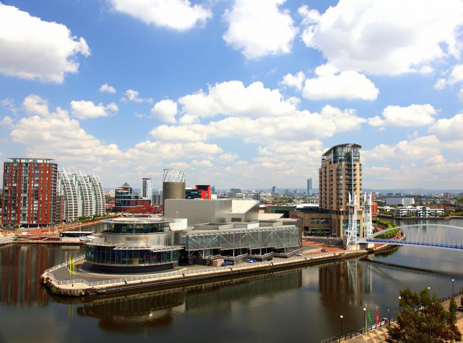 Panorama Manchesteru