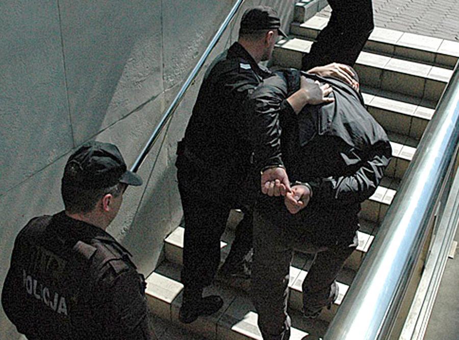 Gangster Marek Cz. ps. Rympałek złapany przez CBŚ
