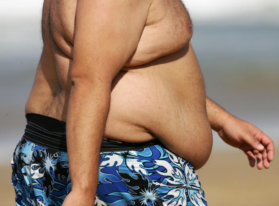 60 procent mężczyzn ma nadwagę lub cierpi na otyłość