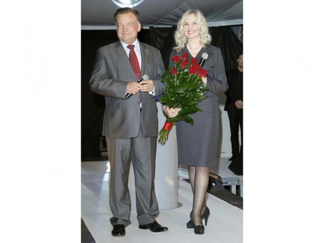 Anna Kalata z Adamem Struzikiem na swoich imieninach.