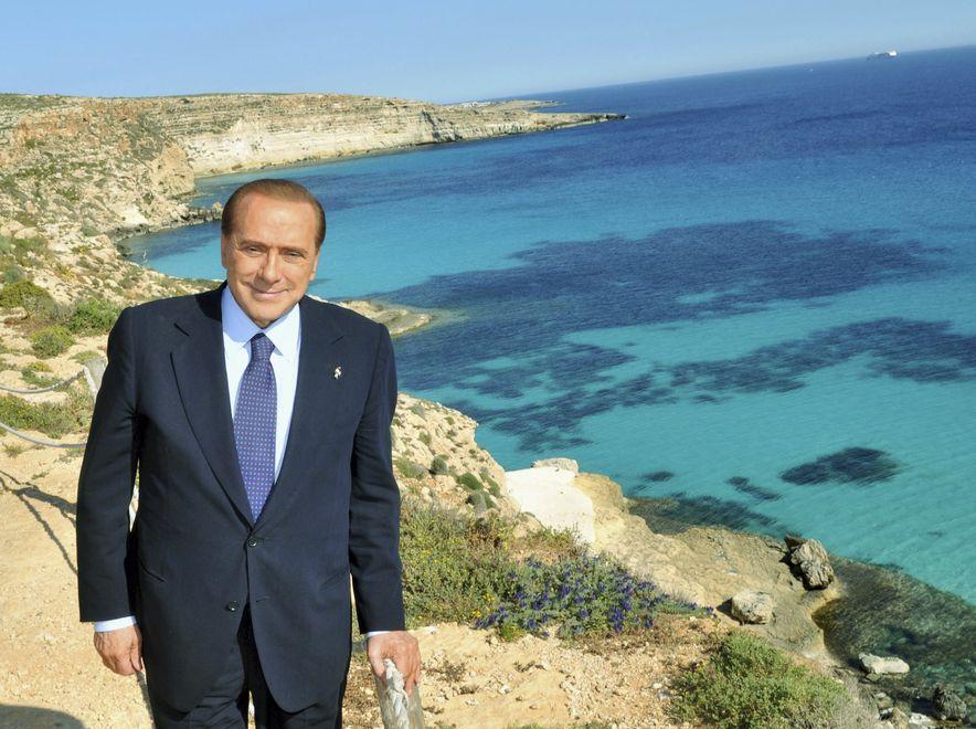 Jest mało prawdopodobne, by Silvio Berlusconi przyjechał do swej willi na Lampedusie