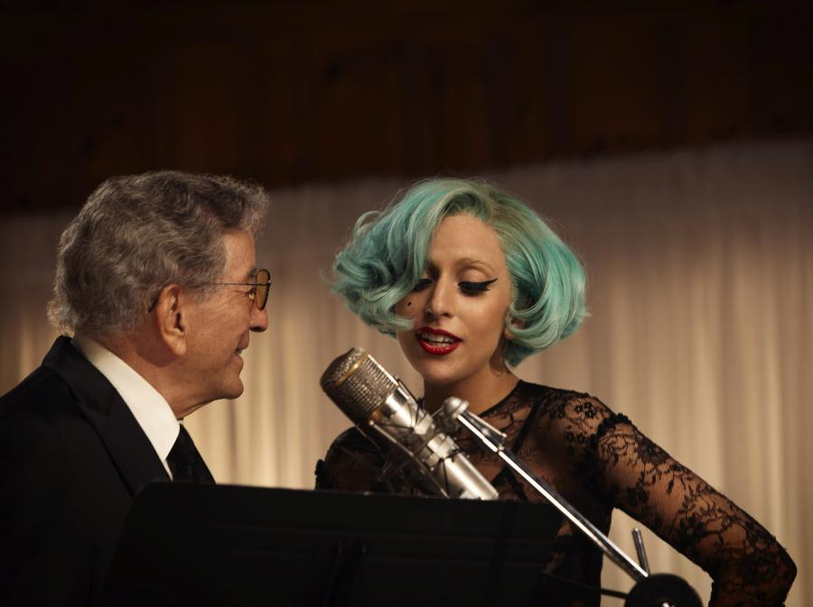 Lady GaGa rozebrała się przed Tonym Bennettem