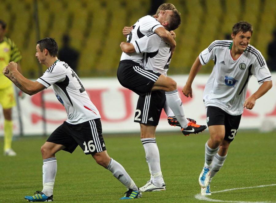 Legia Warszawa wygrała w Moskwie ze Spartakiem i zagra w fazie grupowej Ligi Europejskiej