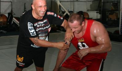 Marcin Najman i Mariusz Pudzianowski