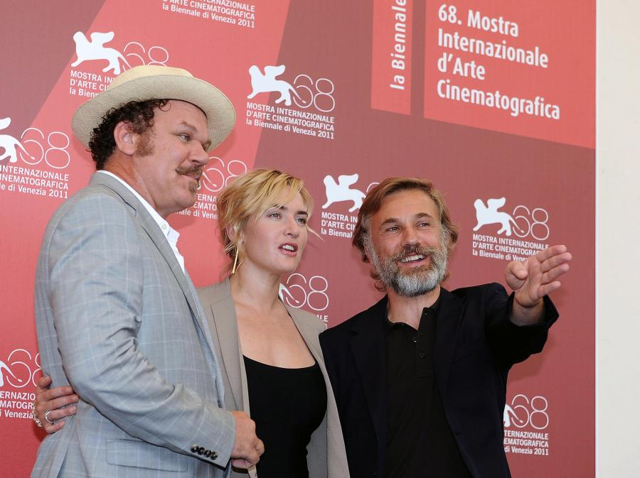 John C. Reilly, Kate Winslet i Christoph Waltz przed weneckim pokazem \