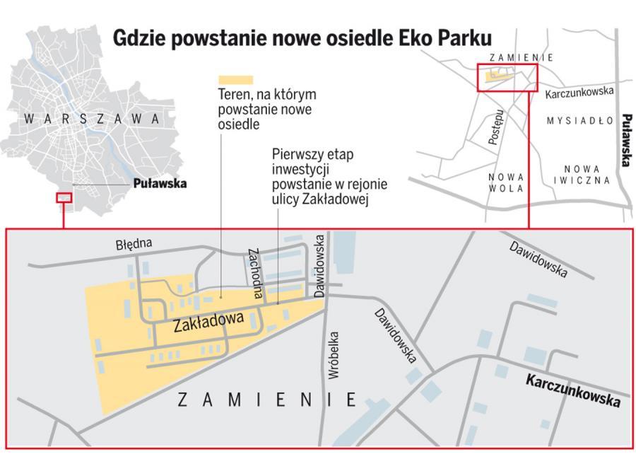 Gdzie powstanie nowe osiedle Eko Parku