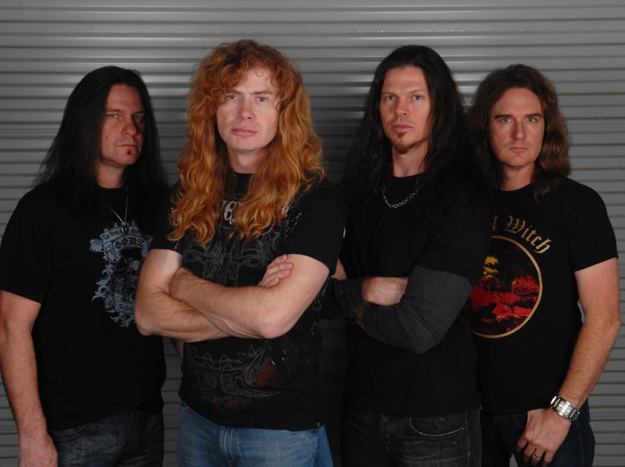 Megadeth żyje cudzym życiem