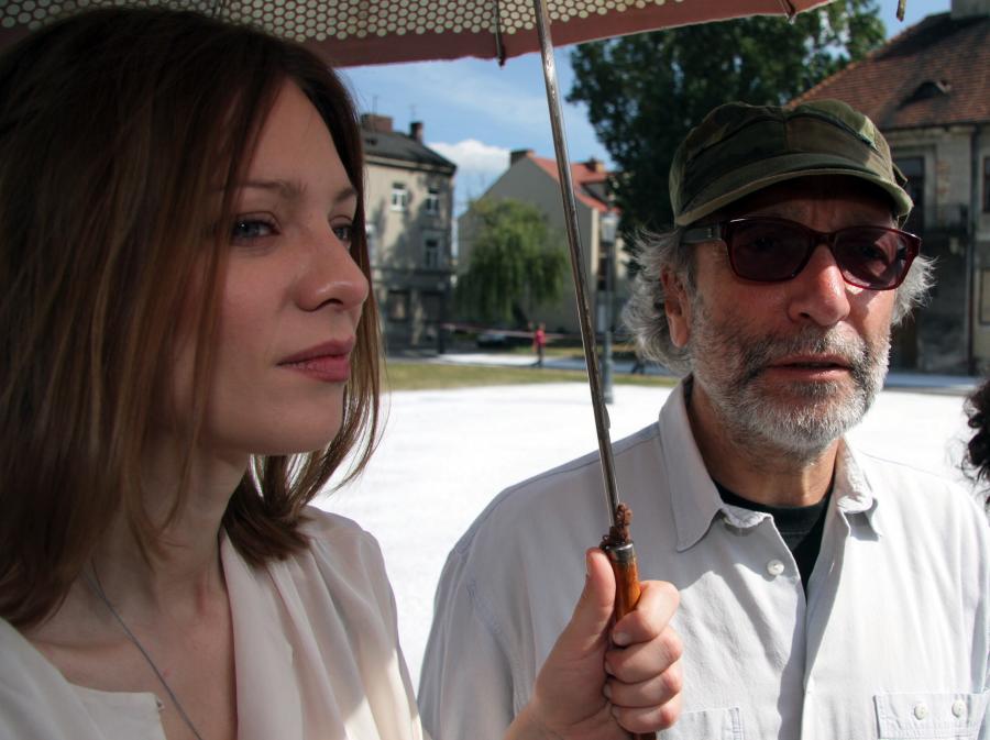 Magdalena Boczarska i Jan Kidawa-Błoński na planie \