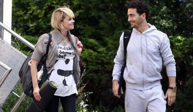 Weronika i Jan po treningu