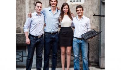 Od lewej: Łukasz Lewandowski, Karol Chilimoniuk, Anna Bowżyk i Marcin Pogroszewski