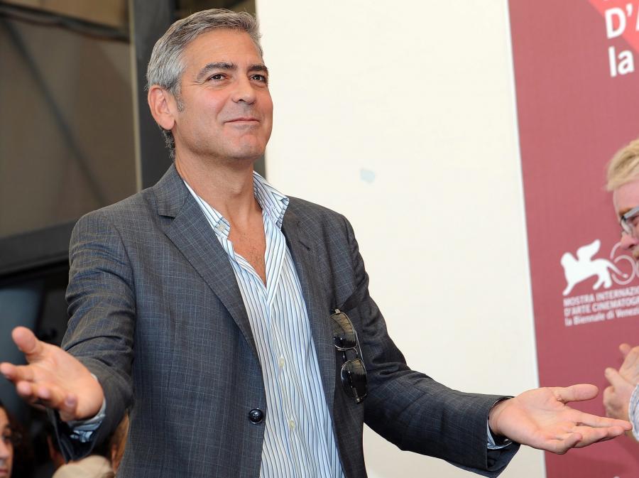 George Clooney w Wenecji