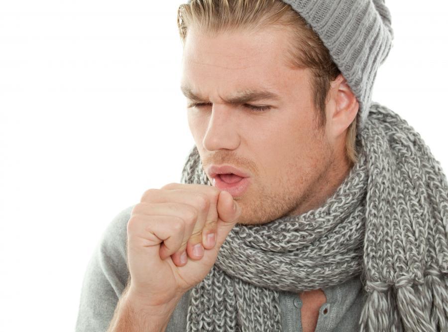 Typowy dla grypy jest suchy napadowy kaszel