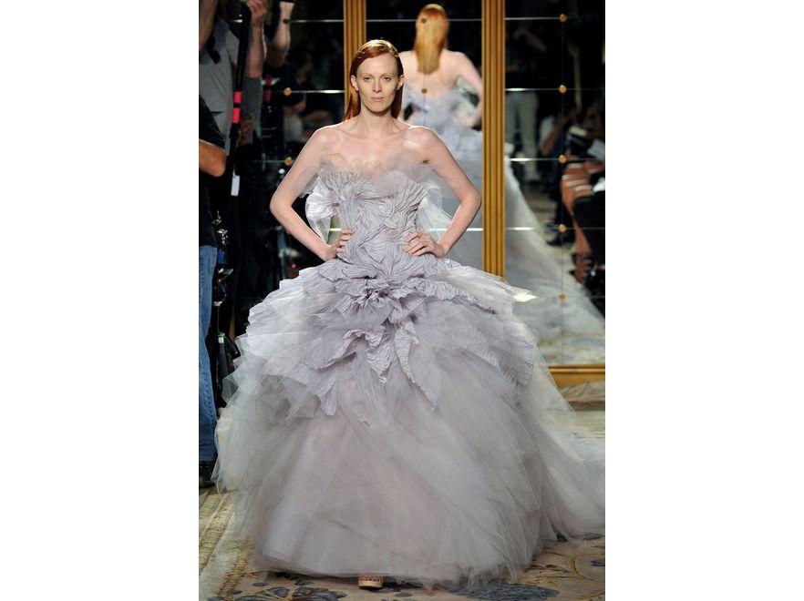 Kolekcja Marchesa na sezon wiosna-lato 2012 na New York Fashion Week