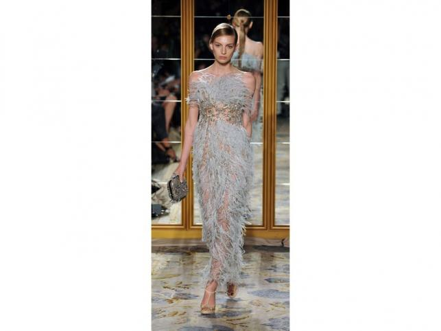 Kolekcja Marchesa na sezon wiosna-lato 2012 na New York Fashion Week