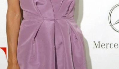 Eva Longoria stawia na fiolet