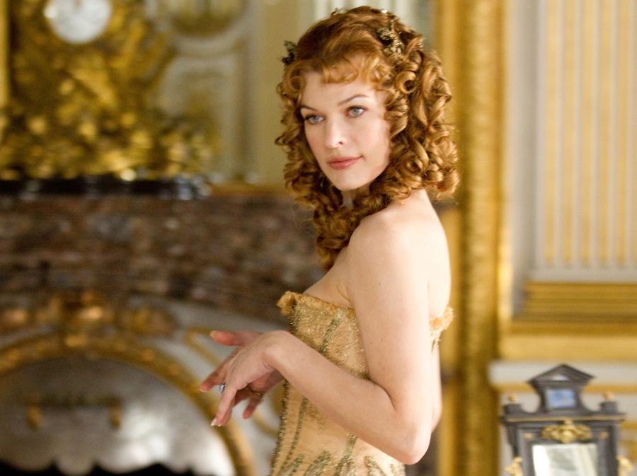 Tajemnicza Milady –Milla Jovovich