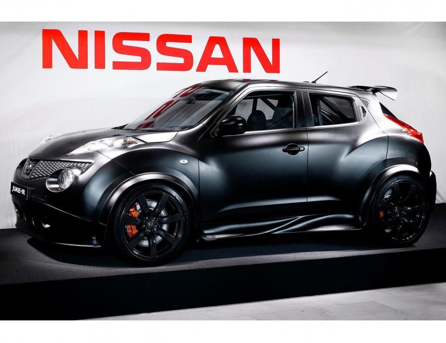 Nissan juke-R z metalu