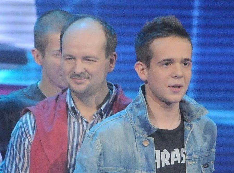 Maciej Czaczyk z ojcem