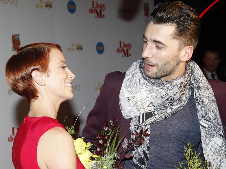 Katarzyna Zielińska i Rafał Maserak