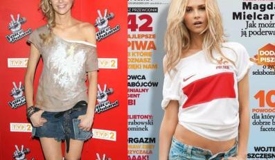 """Patriotyzm w seksownym stylu: """"narodowa"""" stylizacja polskiej topmodelki"""