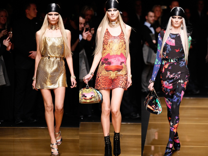 Pokaz kolekcji Donatelli Versace dla H&M.