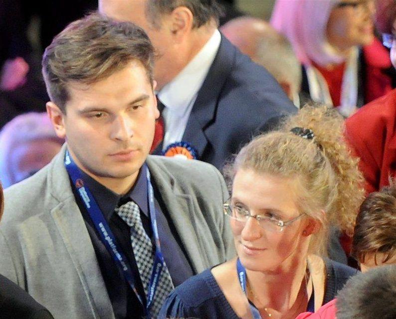 Katarzyna Kopacz z ukochanym