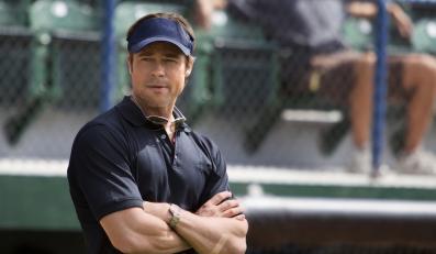 "Brad Pitt w filmie ""Moneyball"""