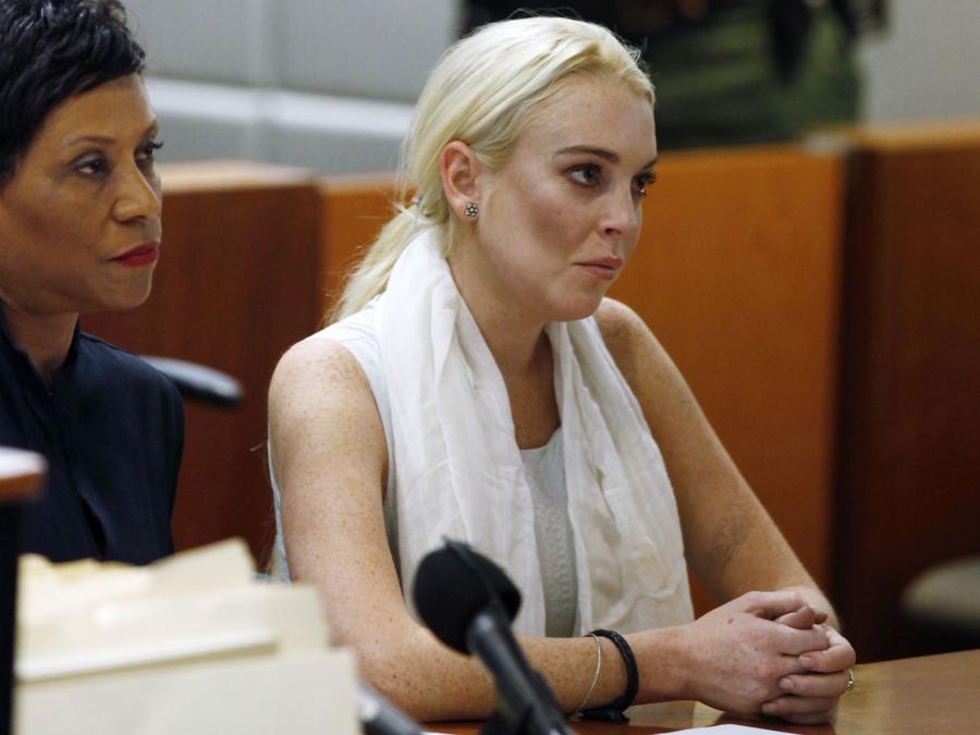 Lindsay Lohan to stała bywalczyni sądów. Powód? Ciągle ten sam - hulaszczy tryb życia i upodobanie do używek.
