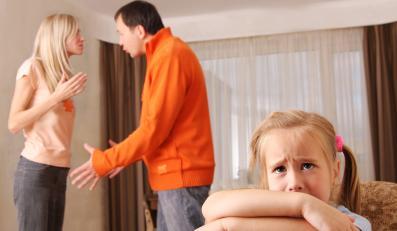 Kłótnia rodziców w obecności dziecka