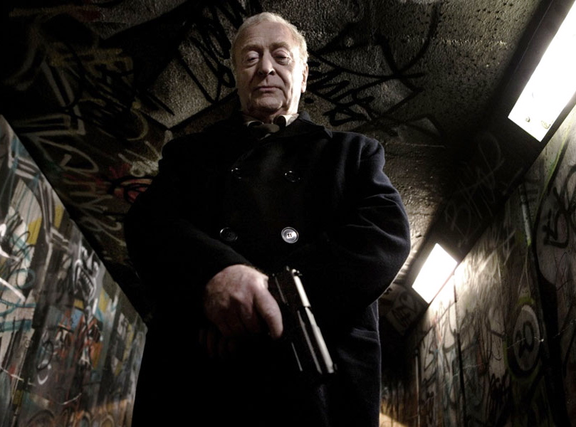 "Michael Caine w filmie ""Harry Brown"""