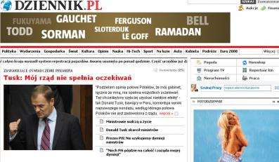 Dziennik.pl ruszył 28 listopada 2006 roku