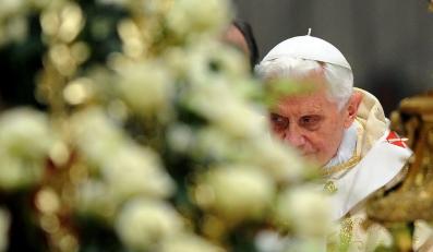 Papież Benedykt XVI na pasterce
