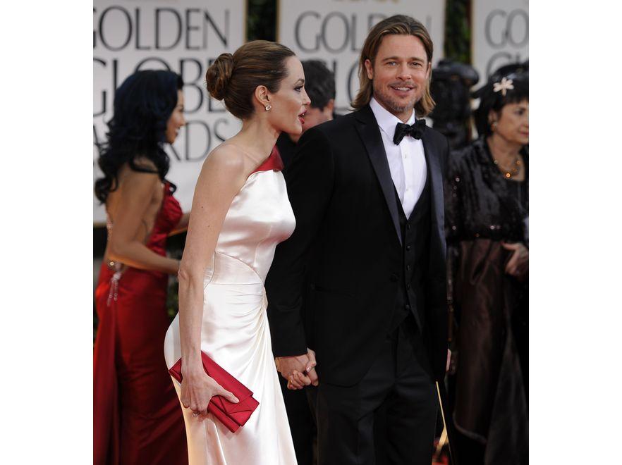 Choć Angelina Jolie wciąż prezentuje bardzo szczupłą sylwetkę, kształty aktorki jakby nieco się zaokrągliły