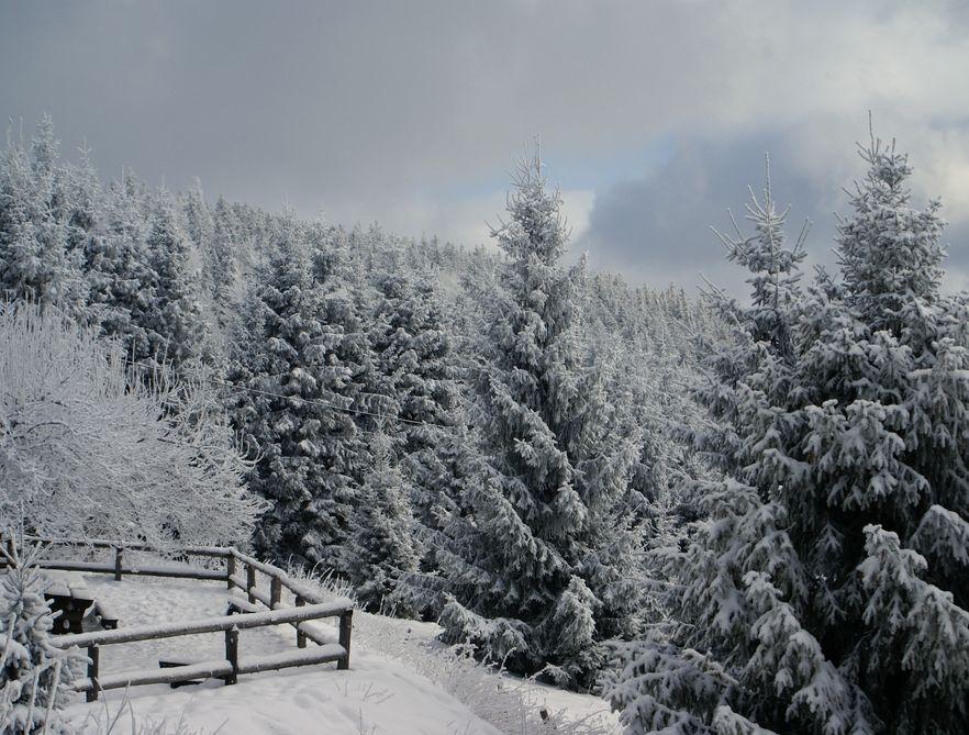 W górach jeszcze zima