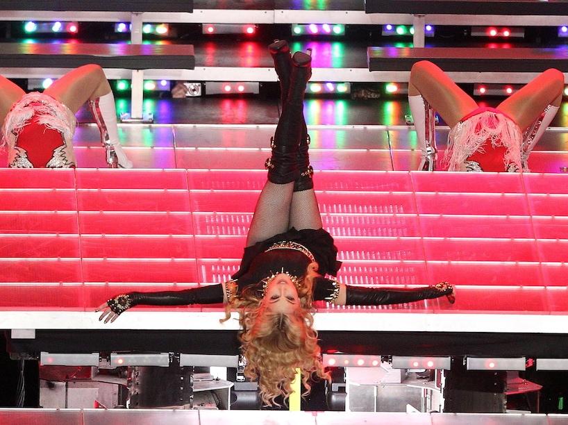 Show Madonny na Super Bowl